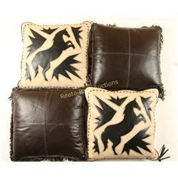 2 Sets of Western Pillows