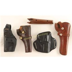 Collection of 4 Holsters