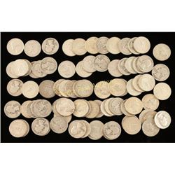 Lot of Silver Quarters