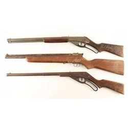 Lot of 3 Vintage BB Guns