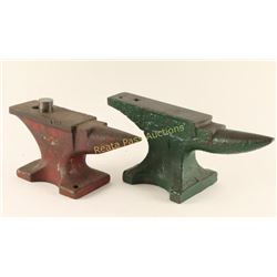 Lot of 2 Anvils