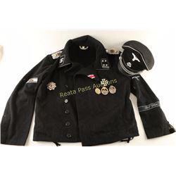 """Repro SS-Panzer LSSAH """"Jochen Peiper Uniform"""