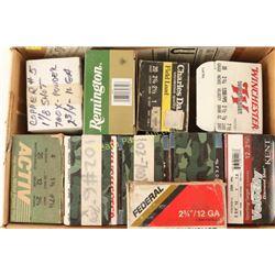 Large Lot of Various 12 & 20 Ga Ammo
