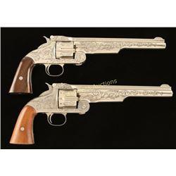 Pair of Replica S&W Schofields