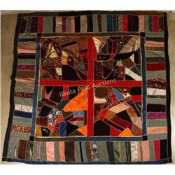 Handmade Crazy Quilt