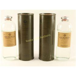 Vintage Military Plasma Cans