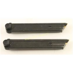 Collection of 2 Stoeger .22 LR Luger Magazines