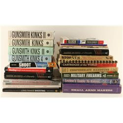 Boxed Lot of Gun Related Books