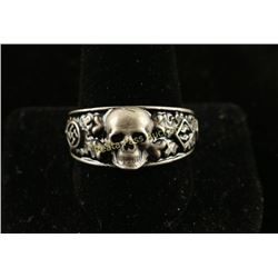 Sterling Silver Nazi Ring