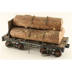 Jim Beam Logging Car Decanter