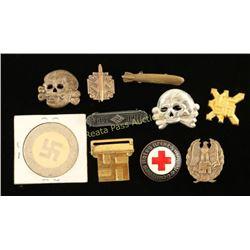 Lot of Nazi Pins