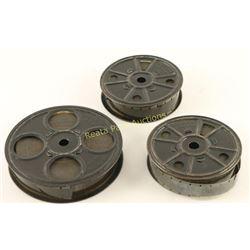 Lot of 3 Vintage Tom Mix Films