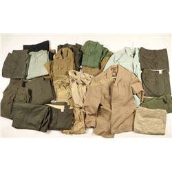 MIlitary Surplus Uniform Lot