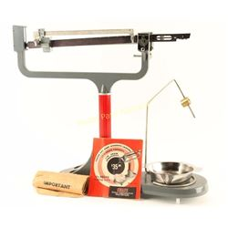Ohaus Triple Beam Loading Scale