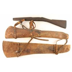 2 Rifle Scabbards