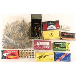 Lot of Assorted Handgun Ammunition