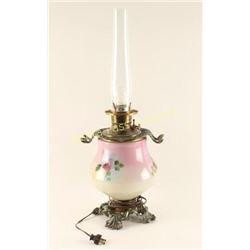 Victorian Kerosene Lamp