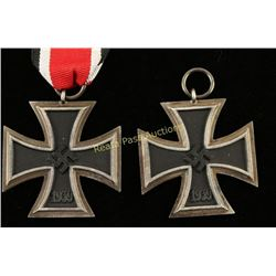 Lot of 2 Iron Cross Medals