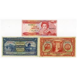 Various Issuers, 1939-1980s, Trio of Issued Notes