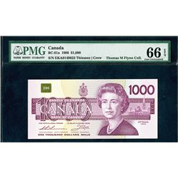 Bank of Canada, 1975, Gem Uncirculated Specimen Note