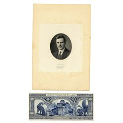 National Bank of Greece, 1920s, Pair of Proofs