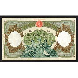 Banca d'Italia. 1960 Issue.