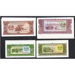Bank of the Lao P.D.R. 1979 ND Issue Replacement Note Assortment.