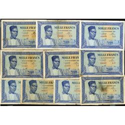 Banque de la Republique du Mali. First 1960 dated issue.