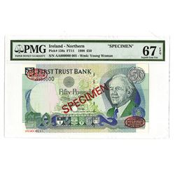 First Trust Bank, 1998, Specimen Banknote