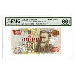 Northern Bank, 1997-1999, Specimen Banknote