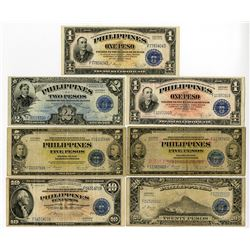 "Philippines Banknote Assortment, ca. 1945 All ""Victory Issues""."