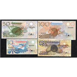 Seychelles Monetary Authority. 1979-80 ND Issue. Specimens.