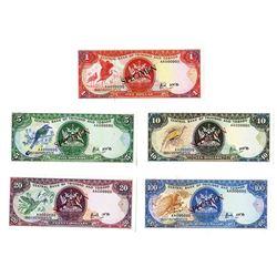 Central Bank of Trinidad & Tobago Banknote Specimens