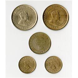 Jamaica: Victoria, 1837-1901, & George V, 1901-1910,