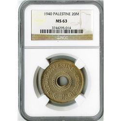 Palestine: British Mandate, 1920-1948,