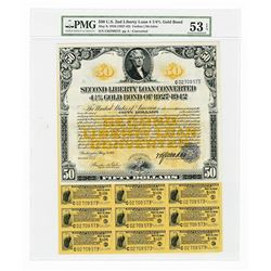 Second Liberty Loan Converted 4.25 % Gold Bond of 1927-1942 Issue May 9, 1918.