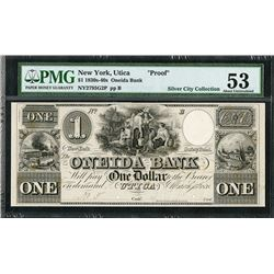 Oneida Bank, 1838 Obsolete Proof - SENC.