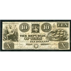 Republic of Texas, 1841, Obsolete Note
