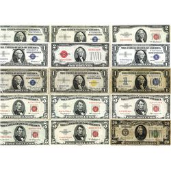 U.S. Note & Silver Certificate Assortment, 1928-1957