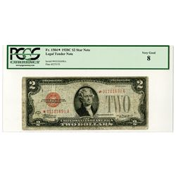 U.S. Note, Legal Tender $2*  Note, 1928C, Fr#1504.