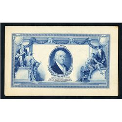 American Bank Note Company French Advertising Card