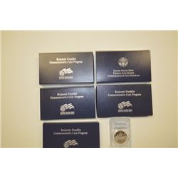 United States: Philadelphia & West Point Mints, Group of 2001-2006 Commemoratives,