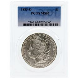 1885-O PCGS MS63 Morgan Silver Dollar