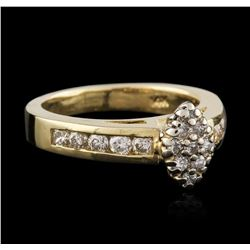 14KT Yellow Gold 0.95 ctw Diamond Ring