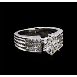 2.00 ctw Diamond Ring - 18KT White Gold