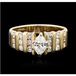 14KT Yellow Gold 1.00 ctw Diamond Ring