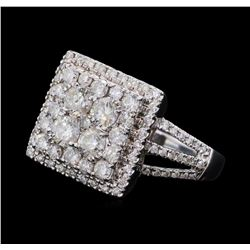 1.50 ctw Diamond Ring - 14KT White Gold