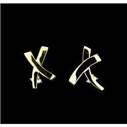 Tiffany & Co. Earrings - 18KT Yellow Gold