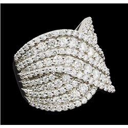 3.03 ctw Diamond Ring - Platinum