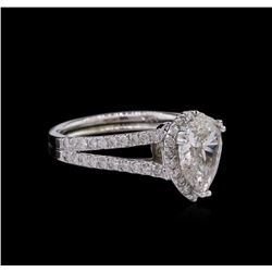 2.01 ctw Diamond Ring - 14KT White Gold